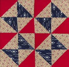 Resplendent Sew A Block Quilt Ideas. Magnificent Sew A Block Quilt Ideas. Antique Quilts, Vintage Quilts, Vintage Sewing, Quilt Block Patterns, Quilt Blocks, Quilting Projects, Quilting Designs, Civil War Quilts, Patriotic Quilts