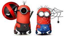 #Minions #superheros