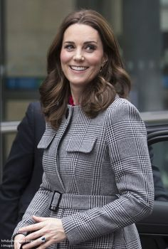 Duchess Kate: Kate's Chic in L.K. Bennett & GOAT for Children's Global Media Summit in Manchester