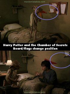 harry potter mistake? no... clearly this was caused by magic. silly muggles....