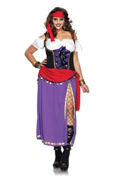 Traveling Gypsy Plus Size Costume #halloween #costumes