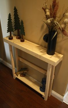 Small sofa table Solid Oak Skinny Table Narrow Sofa Table Sofa Tables Console Table Hall Tables Small Pinterest 60 Best Sofa Tables Images Diy Ideas For Home Home Decor Sofa Tables