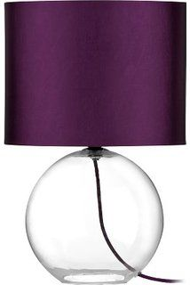 IKEA BRAN   Table Lamp Base, Clear Glass   20 Cm: Amazon.co
