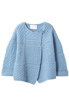 Alan pattern Patchwork Knit