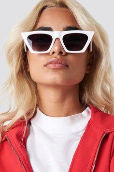 15357f8773 Sharp Square Cateye Sunglasses NA-KD.COM (Affiliate Link)