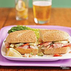 Mimic a shrimp salad sandwich easily with this quick recipe. This tasty seafood…