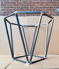 Octagon Table Base, Design Octagon Steel Table Base, Sturdy And Heavy Duty Modern Base – Metal Tables Welded Furniture, Industrial Design Furniture, Steel Furniture, Rustic Furniture, Furniture Design, Furniture Ideas, Hall Furniture, Industrial Lamps, Pipe Furniture