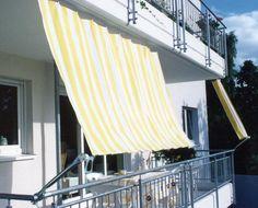 Seilspannsystem f�r Sonnensegel Bausatz Balkon II - f�r Balkone mit Handlauf und Decke bis 7 m Breite
