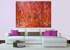"""Crystalline Pink and Golden Fields. """"COMPLEX AND POWERFUL"""""""
