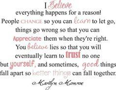 What I Believe, by Marilyn Monroe