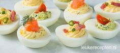 3 x gevulde eieren