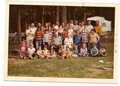 Ogden family reunion, 1973