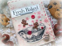 Мечты сбываются...: Christmas Cookie Receipes Envelope