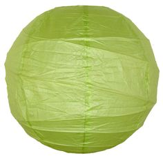 "Just Artifacts paper lanterns are perfect party decor!  20"" Criss Cross Light Green Paper Lantern"