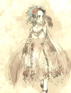 Levy mcgarden fairy tail,I love her so much, she reminds me of me. Geeky, loves books, smaller, artistic and she writes!!
