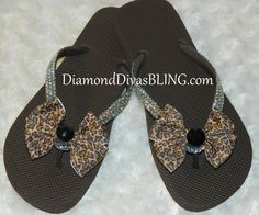 cheetah rhinestone bow sandals www.DiamondDivasBLING.com ♥ LIKE ♥ our page today! ♥ www.facebook.com/DiamondDivasBLING ♥ Rhinestone Sandals, Rhinestone Bow, Bow Sandals, 3 Shop, Cheetah, Flip Flops, Bling, Facebook, Shopping