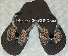 cheetah rhinestone bow sandals www.DiamondDivasBLING.com ♥ LIKE ♥ our page today! ♥ www.facebook.com/DiamondDivasBLING ♥ Rhinestone Sandals, Rhinestone Bow, Bow Sandals, 3 Shop, Cheetah, Flip Flops, Bling, Facebook, Shoes