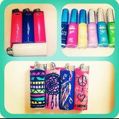 DIY, Decorative Lighters