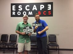 These two evaded Sheriff McLarren and escaped Breakout in 54 minutes!