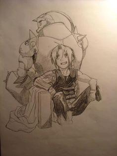 Anime / Edward Elric / Alphonse Elric / Fullmetal Alchemist: Brotherhood / Al / Ed / FMAB / FMA