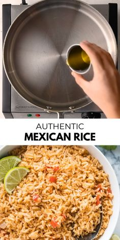 The best side dish for all your Mexican and Tex Mex meals! This Mexican rice is easy to make, super fluffy and very flavorful! This authentic homemade Mexican rice is always a big hit! recipes videos for dinner Mexican Rice Homemade Mexican Rice, Mexican Rice Recipes, Rice Recipes For Dinner, Side Dish Recipes, Vegetarian Recipes, Cooking Recipes, Healthy Recipes, Healthy Rice, Mexican Rice Recipe Restaurant Style