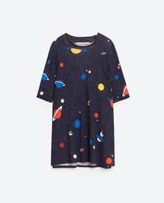 Image 6 of PRINTED OVERSIZE T-SHIRT from Zara