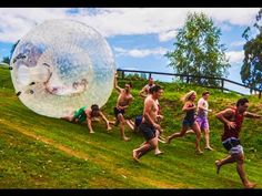 """Watching People Get Crushed By An Inflatable Boulder """"Indiana Jones"""" Style Is Surprisingly Delightful"""