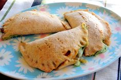 Mediterranean Whole Grain Calzones Recipe — Dishmaps