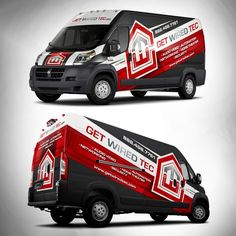 Looking for an clean EYE CATCHING Van Wrap for Home Theater Company by adelea