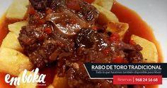 Uno de los platos más demandados en emboka by Simmons es El Rabo de Toro, especialidad de nuestra chef. Este fin de semana volvemos a realizar este guiso para la degustación y disfrute de todos los amigos y comensales que vengan a visitarnos. Estamos en La Flota, Reservas 968241668