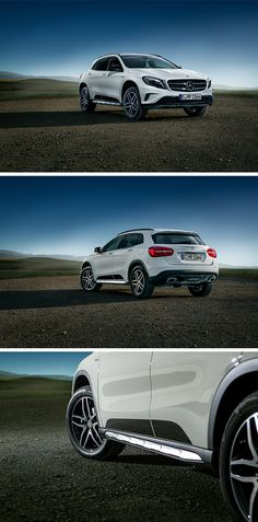 The Mercedes-Benz GLA 200 d 4MATIC Activity Edition. Photo taken by Philipp Rupprecht via #mbsocialcar. [Mercedes-Benz GLA 200 d 4MATIC | combined fuel consumption 5.0-4.8 l/100km | combined CO2 emission 130-127 g/km | http://mb4.me/efficiency_statement]