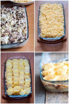 zapiekanka ziemniaczana Macaroni And Cheese, Cooking, Ethnic Recipes, Food, Canning, Cuisine, Mac And Cheese, Kitchen, Meal