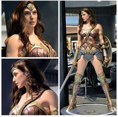 Gal Gadot as Wonder Woman in Batman v Superman. Don't understand what all the fuss is about. She looks pretty wonderful to me.