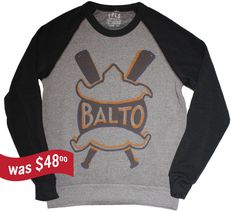 Baltimore Terrapins Baseball Sweatshirt 1914