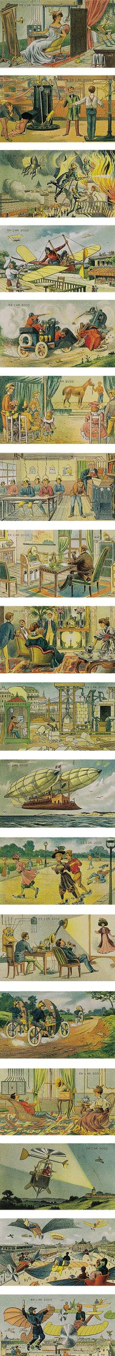 Year 2000, predicted in 1910