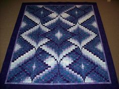 Bargello Quilt. Peace, Robert from nancysfabrics.com I've always loved Bargello patterns--I have many in needlepoint.--LB