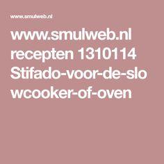 www.smulweb.nl recepten 1310114 Stifado-voor-de-slowcooker-of-oven