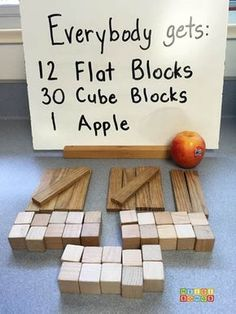 STEM challenge : Apple Jenga