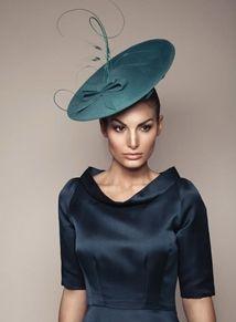 1950s saucer hat bespoke