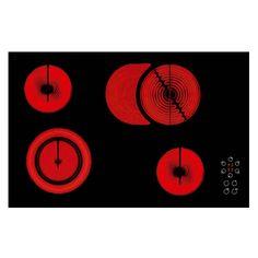 Mekappa Ankastre - 'Lava - 70 cm - Black Glass Hob / Siyah Cam Ocak - vetro seramik / vetro ceramic