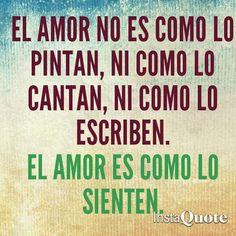 El amor es y ya #love #amor #quotes #frases