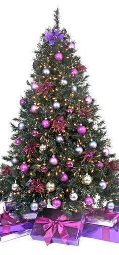 Christmas Tree ● Purple