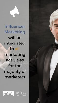 Influencer Marketing will be integrated in all marketing activities for the majority of marketers. Content Marketing, Social Media Marketing, Email Marketing, Business Goals, Business Tips, Search Optimization, Search Engine Marketing, Marketing Quotes, Influencer Marketing