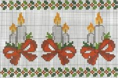 Χειροτεχνήματα: Χριστουγεννιάτικα και Πρωτοχρονιάτικα εργόχειρα / Christmas and New Year cross stitch patterns