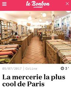 Planquée au fond d'une cour pavée du Marais, la Mercerie parisienne se fait discrète. Et pourtant, cet ancien atelier de confection, avec ses immenses baies vitrées et sa façade végétale est bien connue des initiés...#lamercerieparisienne #lebonbon #parislemarais #lieuxparticuliers #fashion #couture
