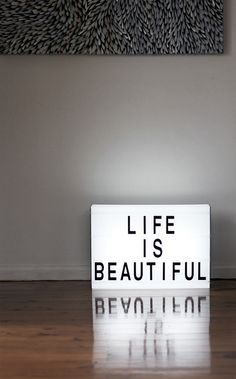 Life is beautiful :: So true