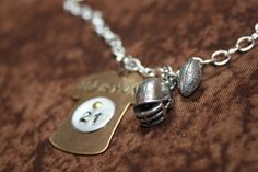 Football Jersey Necklace