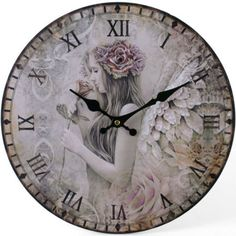 Hey, I found this really awesome Etsy listing at https://www.etsy.com/listing/231675093/silent-riverie-clock-by-jessica-galbreth