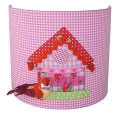 Wandlamp Vogelhuisje Pink