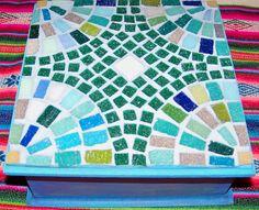 Mosaic Bowling Ball, Mosaic Tray, Mandala, Mosaic Supplies, Mosaic Projects, Mosaic Patterns, Ideas Para, Stepping Stones, Stained Glass